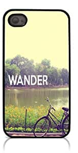 HeartCase Hard Case for Iphone 4 4G 4S (Wander ) by supermalls