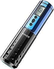 Mast Tattoo Pen Machine Wireless Battery LCD Display Rotary Tattoo Machine Blue Color