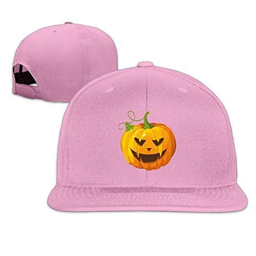 (Halloween Pumpkin Clip Art Adult Baseball Cap Adjustable Snapback Hat)
