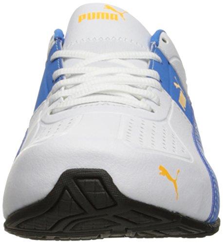 Puma Mens Cell Surin 2.0 Fm Sneaker Puma Bianco-francese Blu