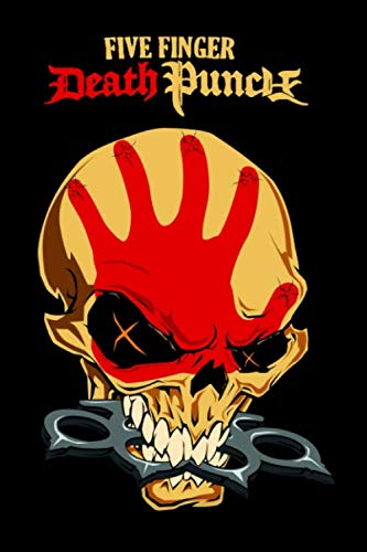 Five Finger Death Punch: notebook, 100 lined pages, 6x9