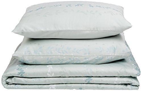 Price comparison product image Calvin Klein Home Nightingale Duvet Set, Queen, Sea Mist