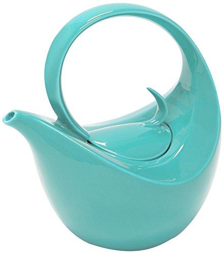 Chantal 92-TPOL AQ Olivia Teapot, 0.75 quart, Aqua