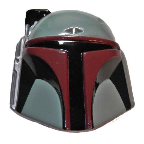 Star Wars BOBA FETT Helmet Enamel Detail Metal BELT BUCKLE
