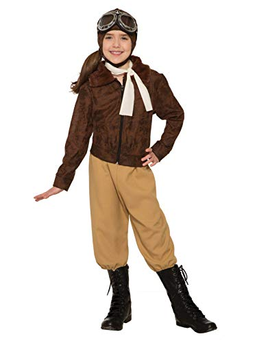 Girl's Amelia Earheart Historical Costume
