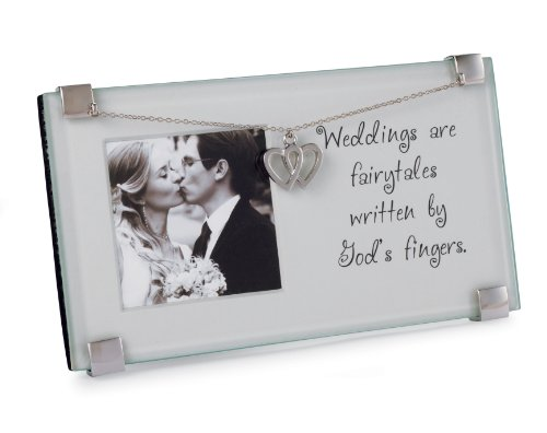 Mud Pie Picture Frame, Weddings are Fairytales