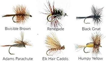 1 Dozen 12 Black Midge Size 20 dry flies