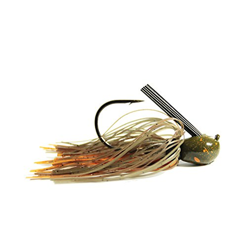 (Missile Baits Ike's Mini Flip Jig, Bamer Craw, 3/8)