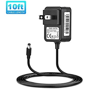 IBERLS 9V Power Supply Adapter Compatible with Casio Piano Keyboard AD-5 AD-5UL Power Cord for CTK Series CTK-120 CTK-330 CTK-491 CTK-515 CTK-551 CTK-630 ...