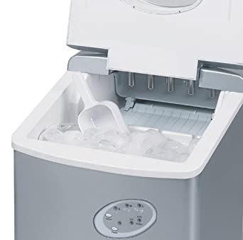 Countertop Ice Maker Youtube : ... Ice Cube Maker - Portable Countertop Ice Machine Makes 15kg Ice in 24