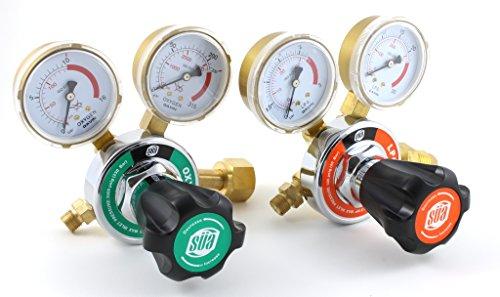 SÜA Oxygen and Propane Propylene 25HX Regulators Combo
