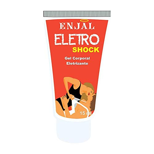 Eletro Shock, Gel Vibratorio Efeito Excitante, 15 ml, Enjal