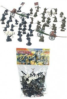 Civil War Figurine (Gettysburg Civil War Military Playset-Army Toys)