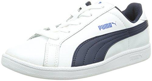 Puma Puma Smash Fun L Jr - Zapatillas Unisex Niños Weiß (white-peacoat 01)