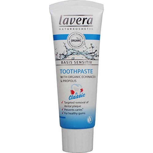Lavera Basis Sensitiv Toothpaste - Classic 75ml/2.5oz