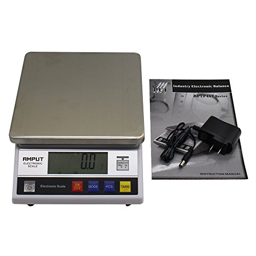 High Precision 10kg x0.1g Digital Accurate Balance with Counting Function Lab Scale by top-tool (Image #1)