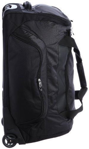 d4307a3b12043 Nike 2014 Departure II Roller Duffle Bag Black: Amazon.co.uk: Sports &  Outdoors