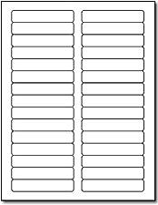 Laser File Folder Labels