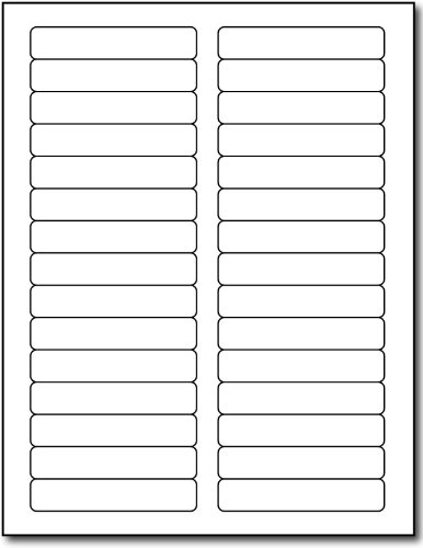 (Inkjet/Laser File Folder Labels - 2/3