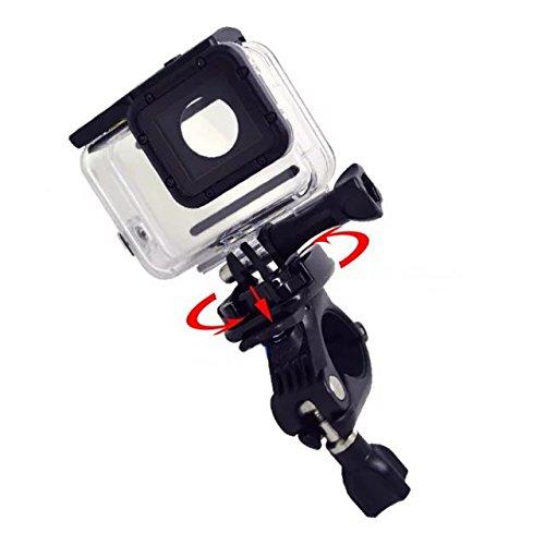 Goliton Bici de rotaci/ón de 360 grados Soporte para bicicleta Para GoPro Hero 5 XiaoYi SJ4000