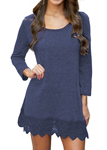 songbai-womens-cotton-blend-crew-neck-staple-top-with-long-sleeves-l-navy-blue
