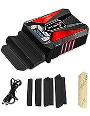 KLIM Cool Refrigerante Gaming para Ordenador Portátil – Ventilador de Alto Rendimiento para una Rápida Refrigeración – Aspiradora de Aire USB