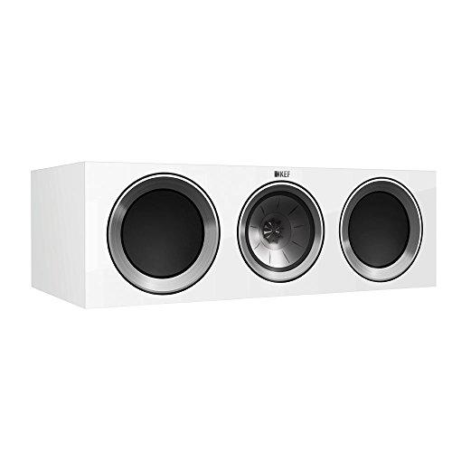 KEF R200c Center Channel Loudspeaker - Gloss White (Single)