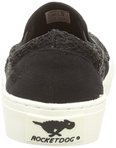 Da lovely Crochet Dog Rocket Espadrillas schwarz Nero Donna Duet Btq8nH
