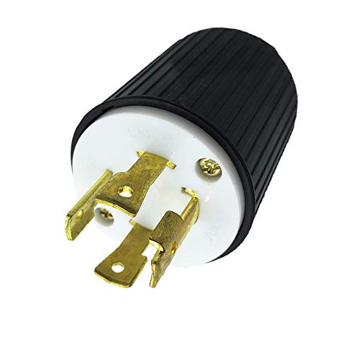 NEMA L14-30P 30 Amp 125/250V 4 Prong Industrial Grade Locking Plug Connector Male Receptacle