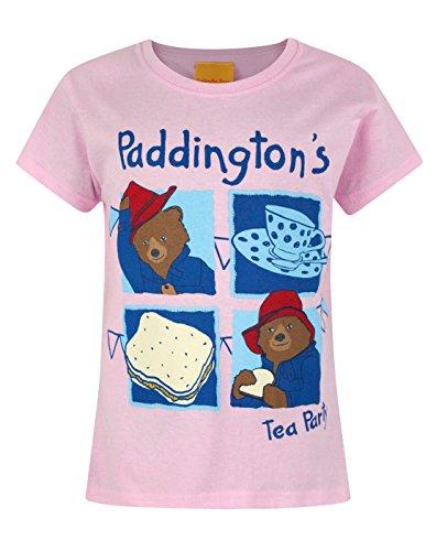 Day Tea Party T-shirt - Official Paddington Bear Tea Party Girl's T-Shirt (5-6 Years)