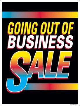 Amazon.com: Salir de venta ventana venta de negocios cartel ...