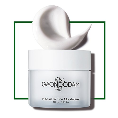 [AMOREPACIFIC] Facial Moisturizer Cream with Shea Butter and Coconut Oil, Advanced Daily Moisturizing for Face and Neck, EWG Verified, GAONDODAM (100 ml / 3.38 fl.oz.)