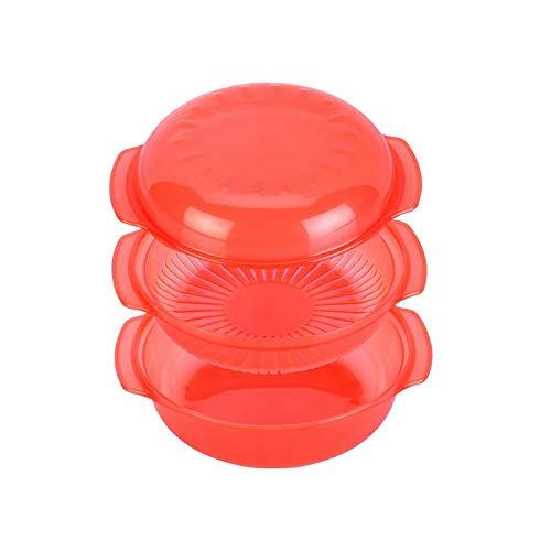 Whirlpool - Vaporera para microondas, diámetro 21,5 cm ...