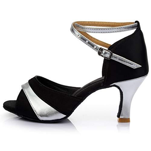 Blanches Plage Bout Tongs Partie femmes Chaussure binggong Argent Soiree Cheville Mariage Talons Femmes 1 Sandales Ouvert Femme wAqB7x0Xc