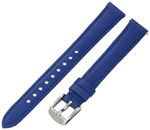 Fossil Women's S141103 Blue Leather 14mm Watch Strap