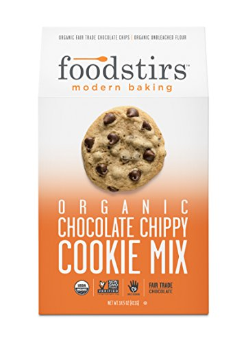 Foodstirs Organic Chocolate Chippy Cookie Mix 15.6 Ounce, (Pack of (Kosher Brownie)