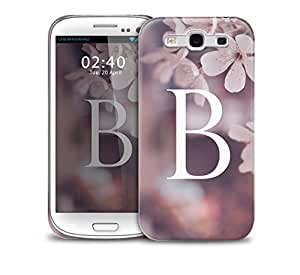 letter B Samsung Galaxy S3 GS3 protective phone case