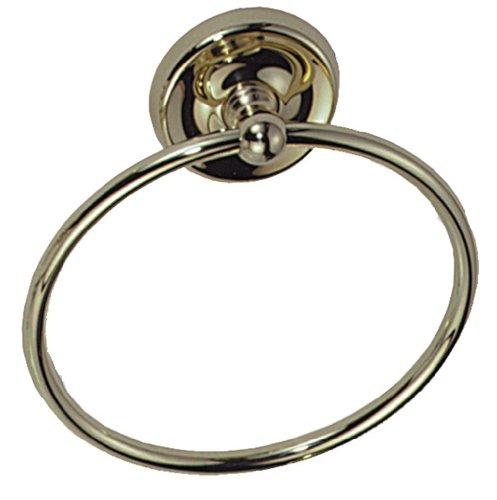Elizabethan Classics ECTRSN Towel Ring, Satin (Elizabethan Classics Hooks)