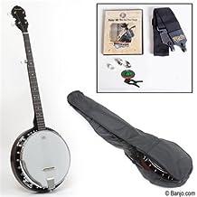 Savannah SB-100 5-String Banjo with Starter Pack