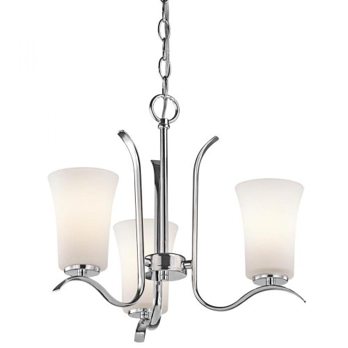 Cheap Kichler 43073CH Armida Mini Chandelier 3-Light, Chrome