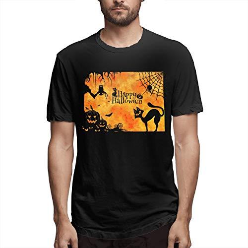SPENCER Halloween Pumpkin Novelty Men's T-Shirt Tee -