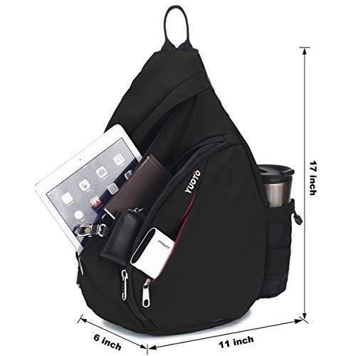 3006146651 YUOTO Sling Backpack One Strap Crossbody Shoulder Sling Bag - Buy ...