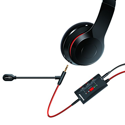 dreamGEAR - Boomchat Pro - covert music headphones into gaming headphones, includes boom mic and audio controls by dreamGEAR (Image #4)
