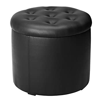 Ikea Omedelbar Ottoman With Storage Black 604.001.42