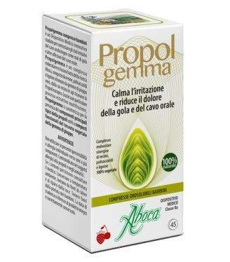 ABOCA - PROPOLGEMMA - COMPRIMIDOS COMPRIMIDOS BUCALES NIÑOS protección de la la mucosa, calma l