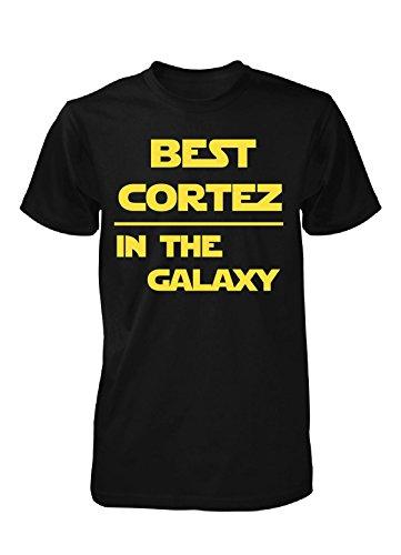 Best Cortez In The Galaxy. Cool Gift - Unisex Tshirt Black Adult 5XL