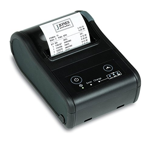 Epson C31CC79751 Mobile Label Printer TM-P60II, Peeler, Bluetooth, IOS Compatible, Battery, Belt Clip, USB Cable, Black (Pack of ()