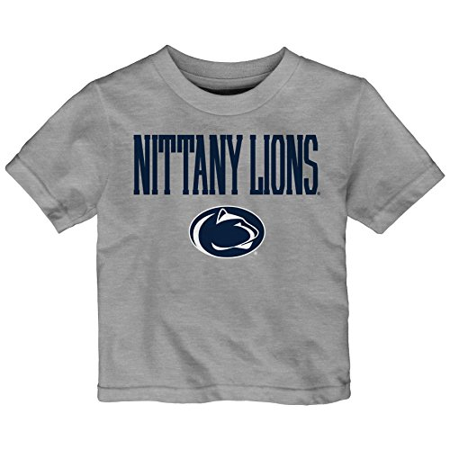 NCAA Penn State Nittany Lions Toddler Team Property Short Sleeve Tee, 2T, Heather Grey ()