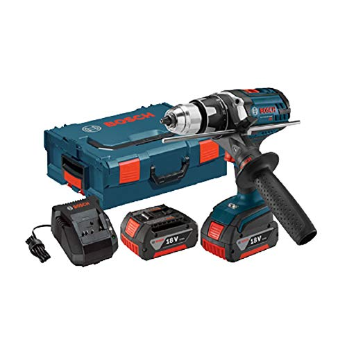 Bosch DDH181X-01L-RT 18V Cordless Lithium-Ion 1/2 in. Brute Tough Drill Driver with Active Response Technology and L-BOXX2 (Certified Refurbished)