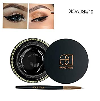 Amazon.com: Kaputar Fashion 6Colors Waterproof Long Lasting EyeLiner ...